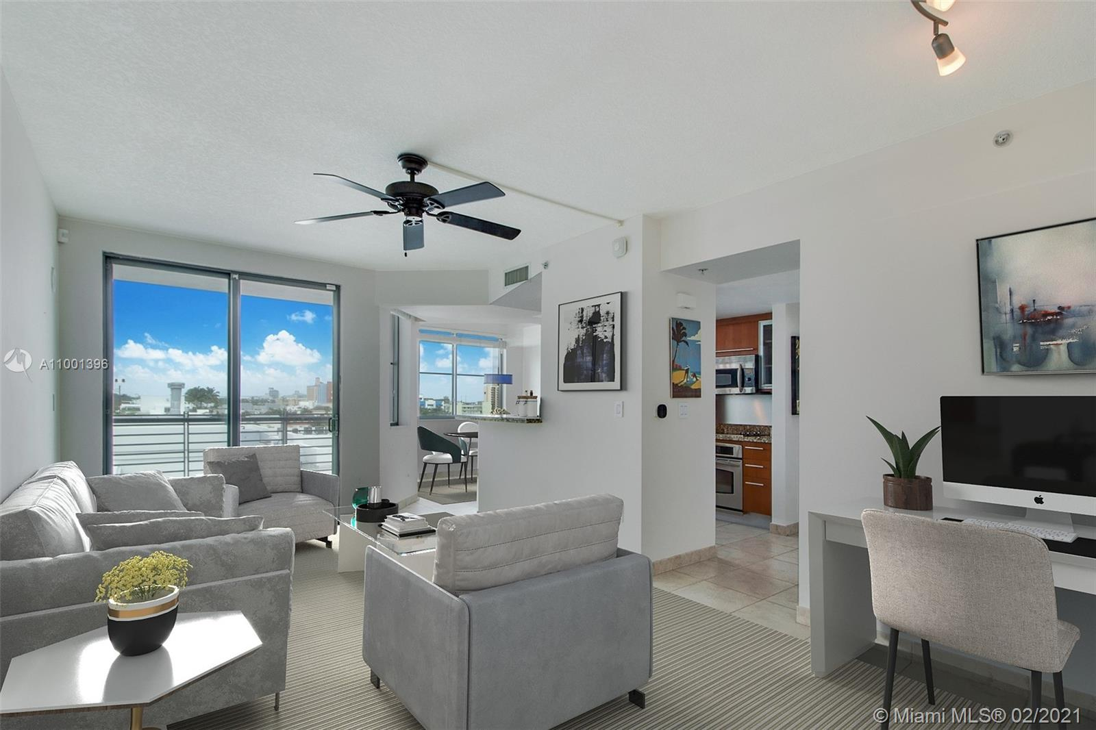 Cosmopolitan #1823 - 110 Washington Ave #1823, Miami Beach, FL 33139