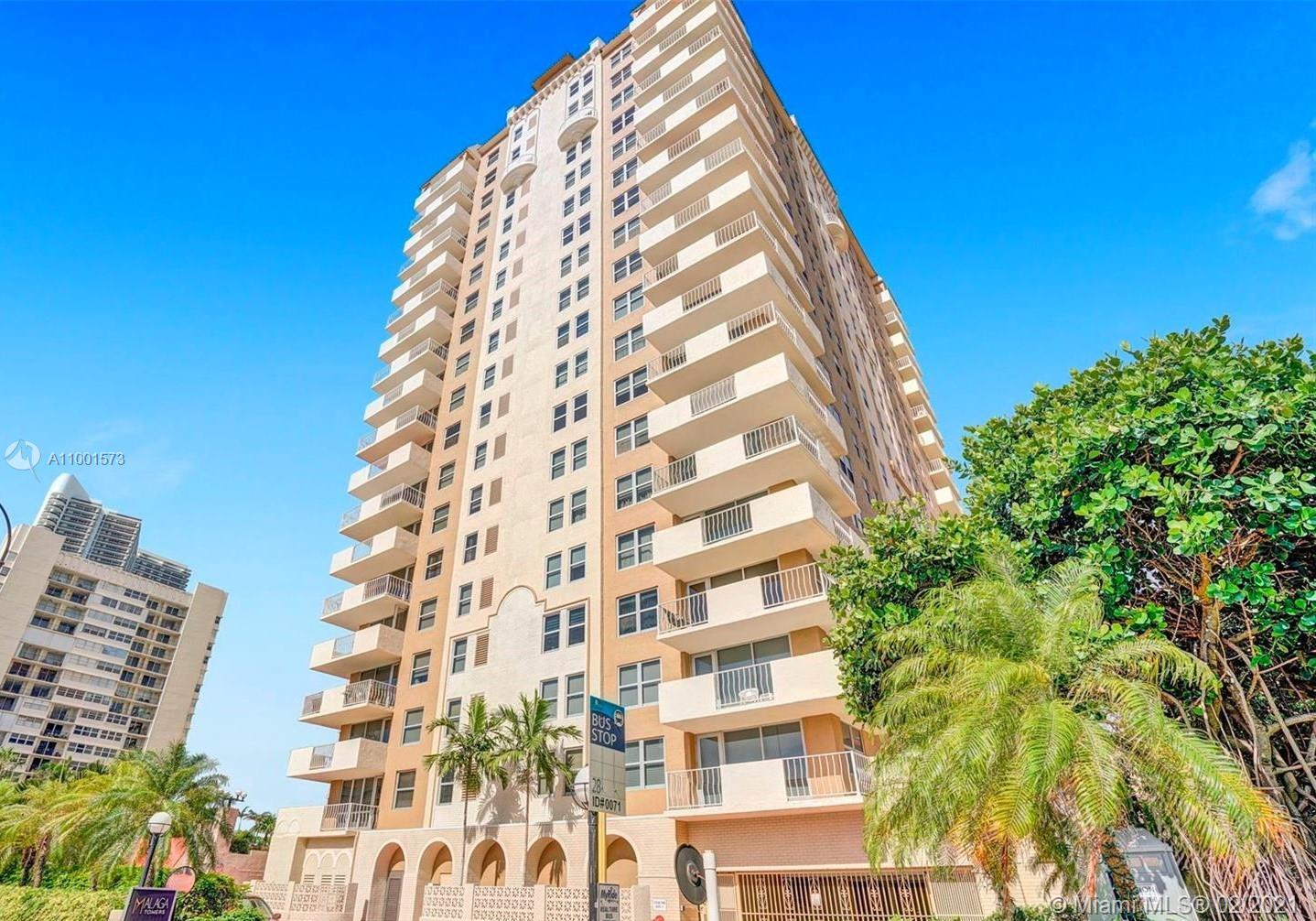 Malaga Towers One #16C - 1912 S Ocean Dr #16C, Hallandale Beach, FL 33009