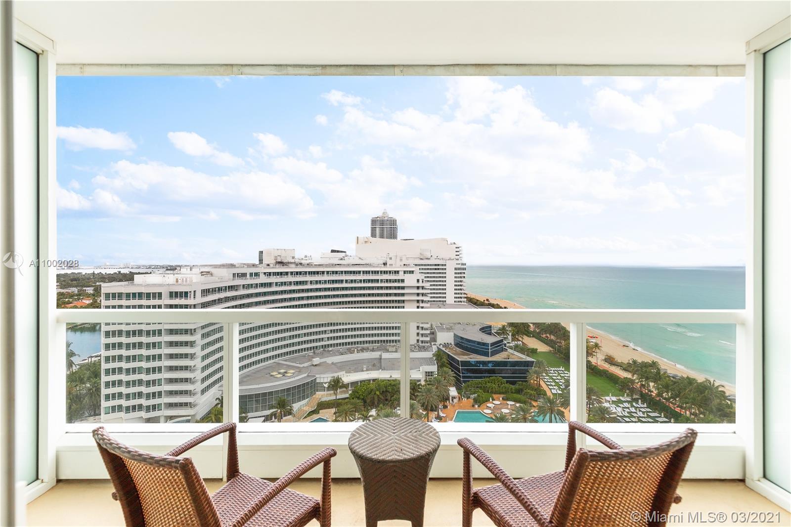 Fontainebleau Sorrento #1604 - 4391 Collins Ave #1604, Miami Beach, FL 33140