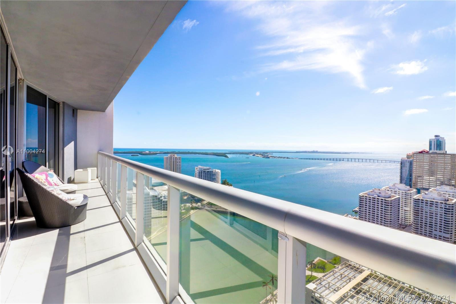 Icon Brickell 2 #3711 - 495 BRICKELL AVE #3711, Miami, FL 33131