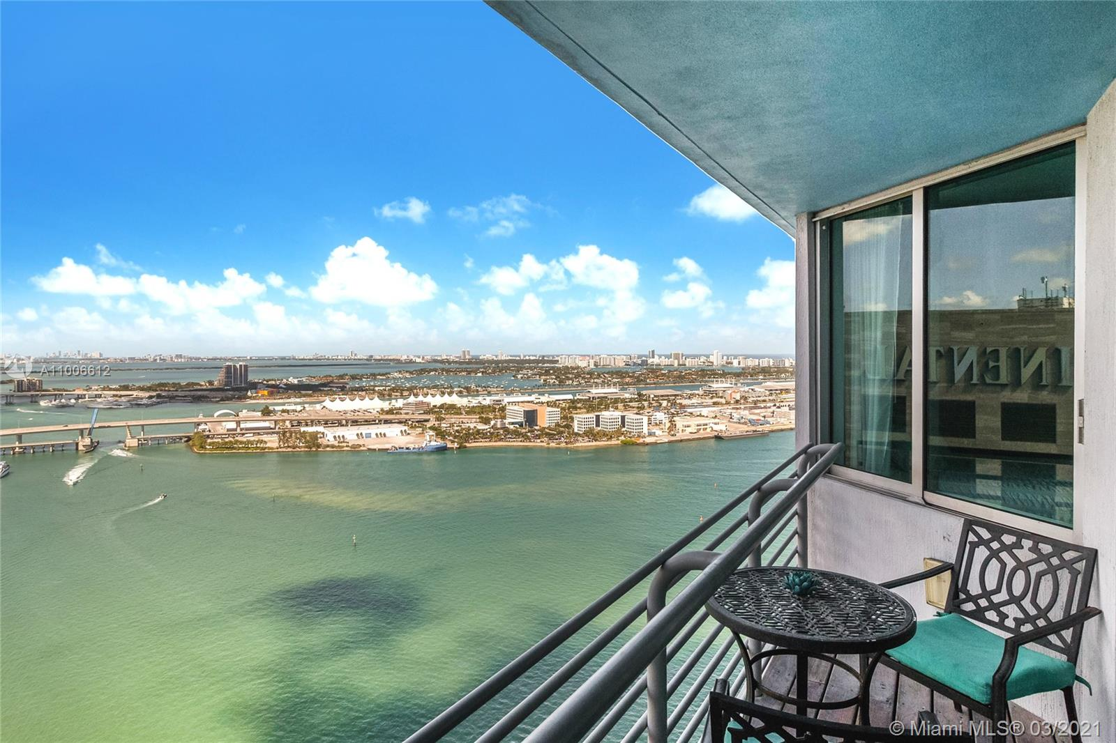 One Miami East #3808 - 335 S Biscayne Blvd #3808, Miami, FL 33131