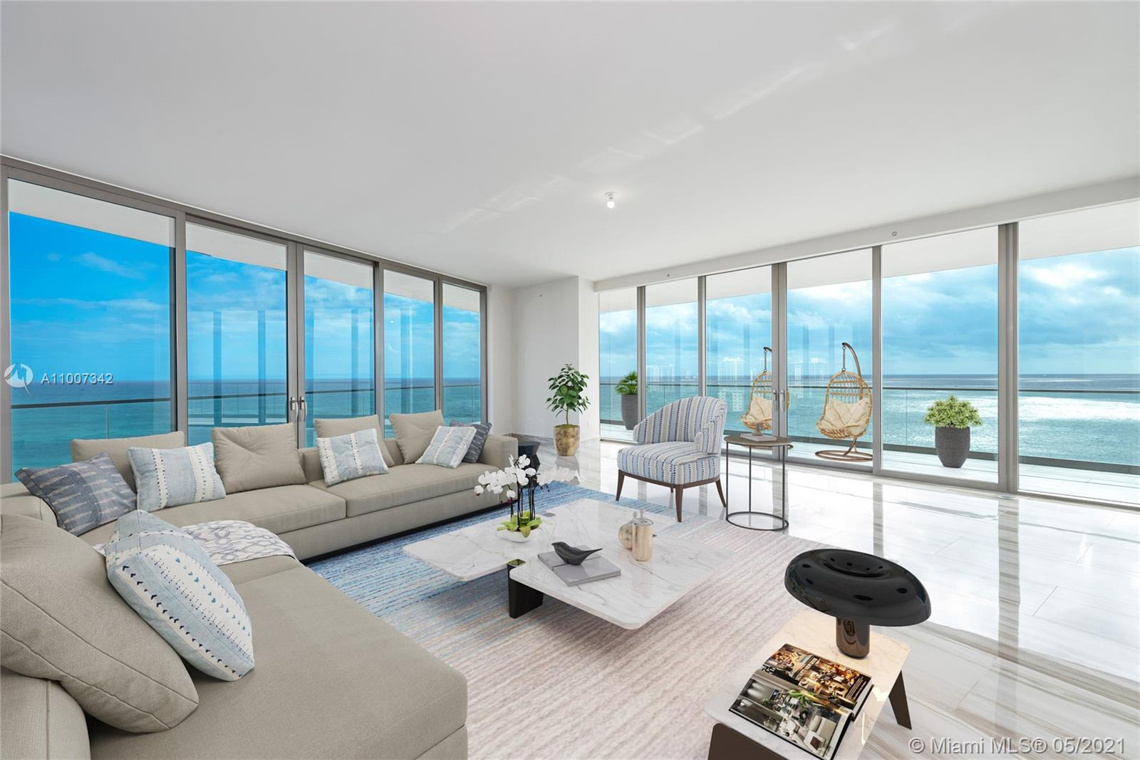 Armani Casa Tower #1800*FINISHED+CABANA - 18975 Collins Ave #1800*FINISHED+CABANA, Sunny Isles Beach, FL 33160