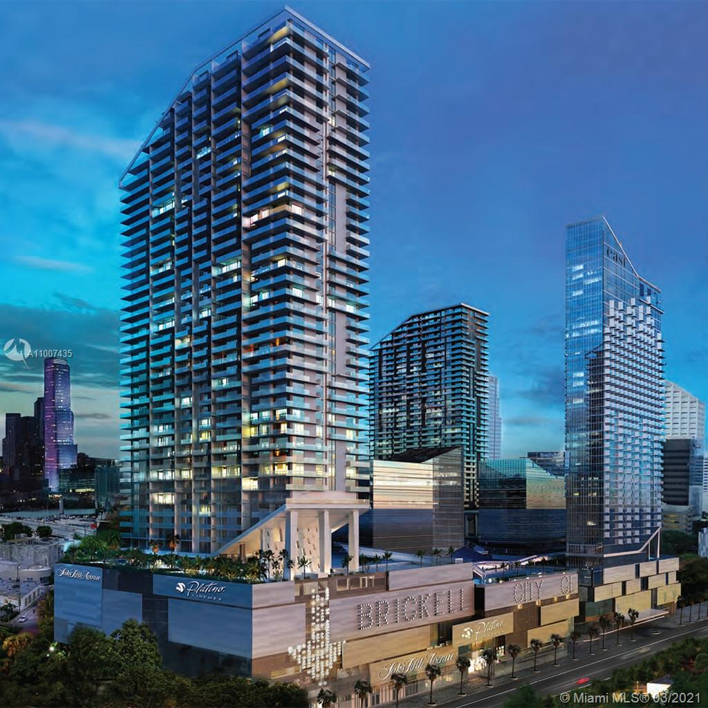 Rise Brickell City Centre #1607 - 88 SW 7th St #1607, Miami, FL 33130