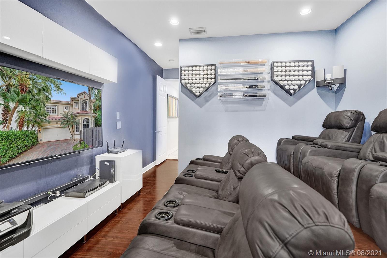 Bedroom 5/ Media - Downstairs
