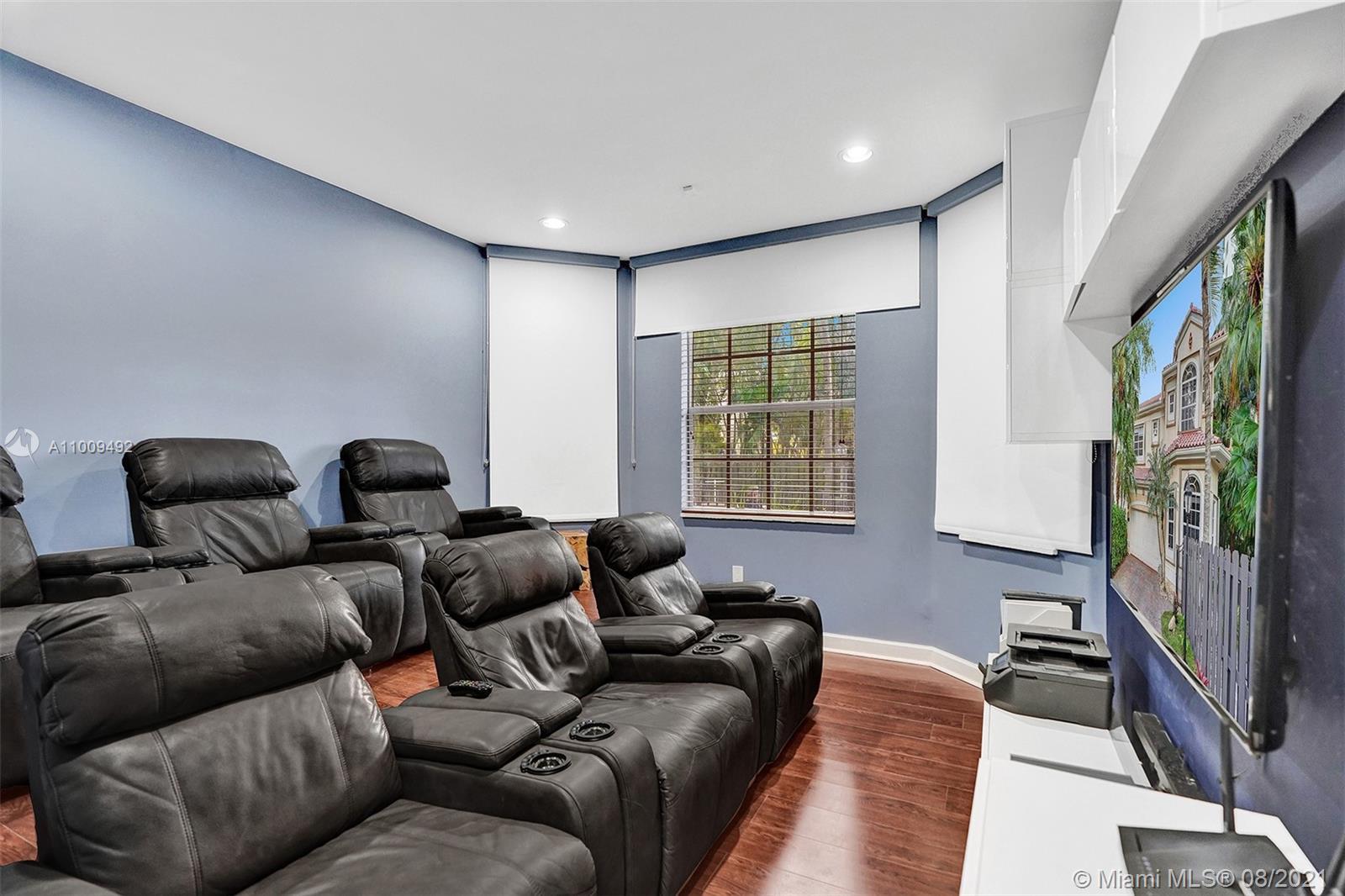 Bedroom 5/ Media Room- Downstairs