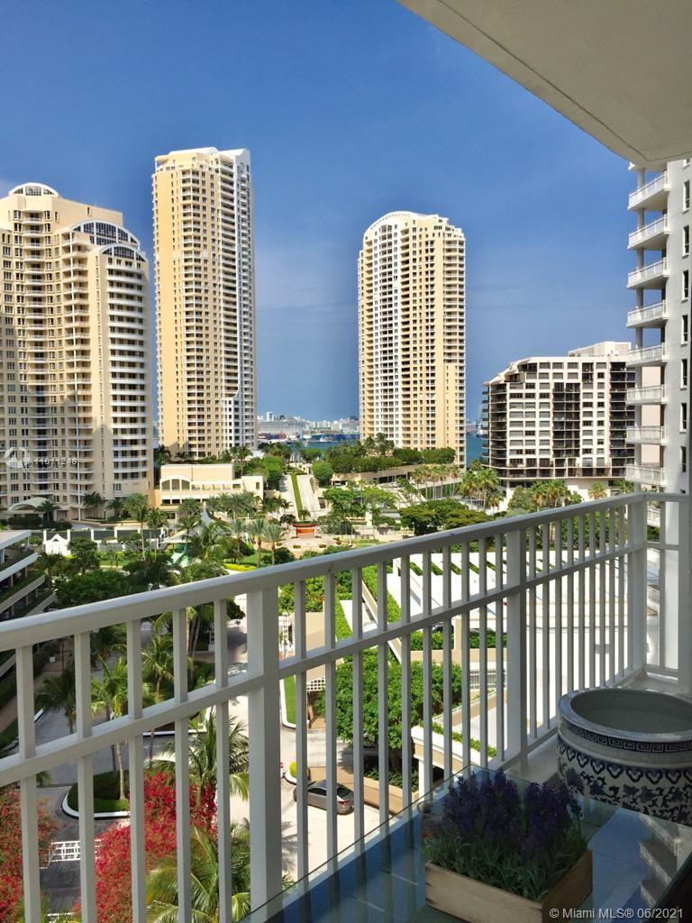 Courvoisier Courts #1104 - 701 Brickell Key Blvd #1104, Miami, FL 33131