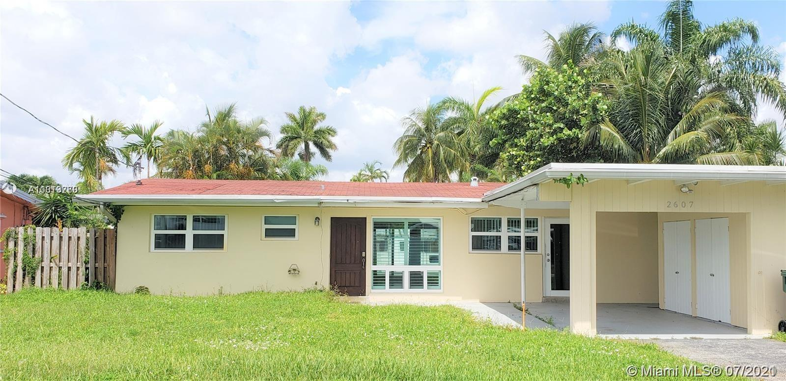 Property for sale at 2607 Flamingo Ln, Fort Lauderdale,  Florida 33312