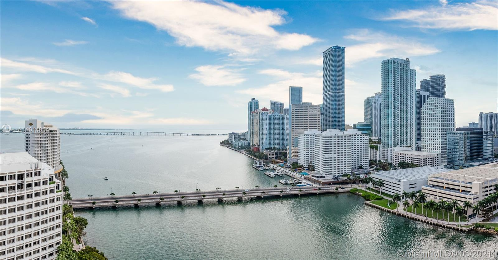 Courvoisier Courts #2403 - 701 Brickell Key Blvd #2403, Miami, FL 33131