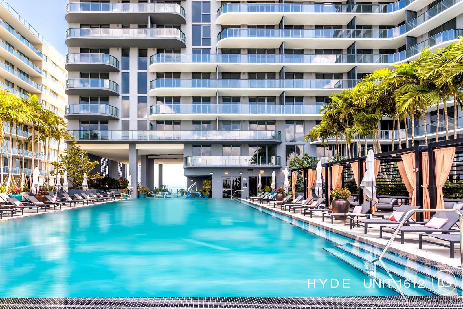 Hyde Midtown #1612 - 3401 NE 1 Av #1612, Miami, FL 33137