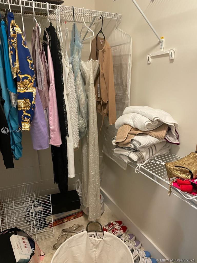 Garage conversion - closet