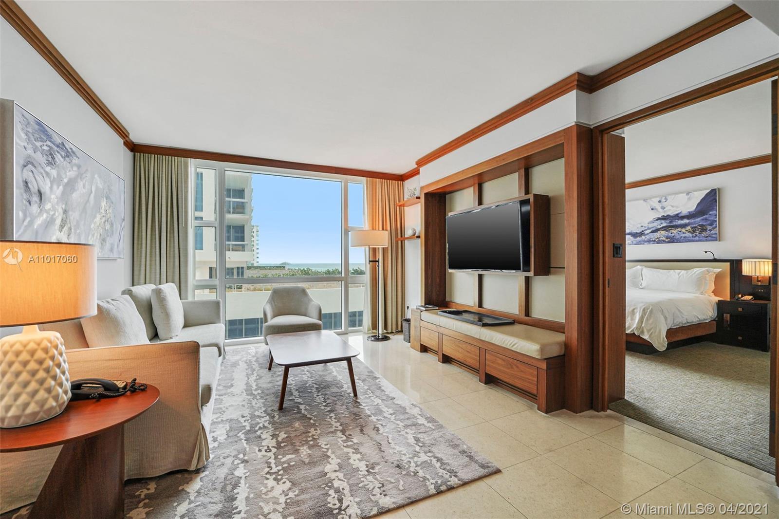 Carillon Hotel Tower #611 - 6801 Collins Ave #611, Miami Beach, FL 33141