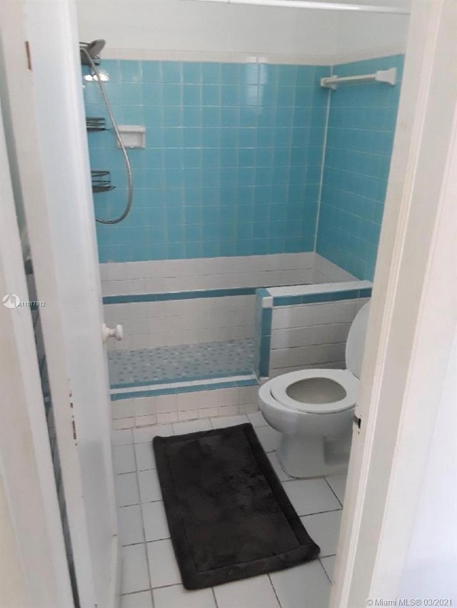 bathroom in apartment upstairs