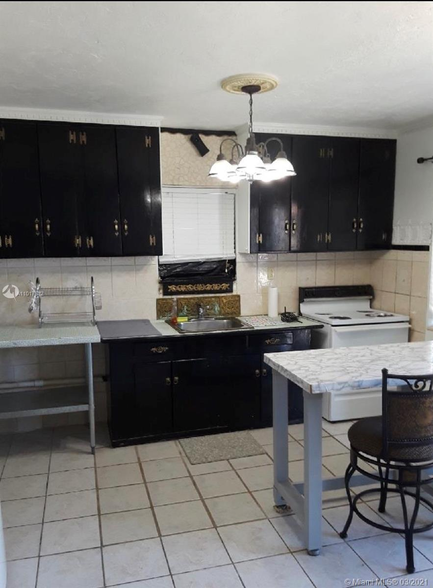 Kitchen in apartment upstairs
