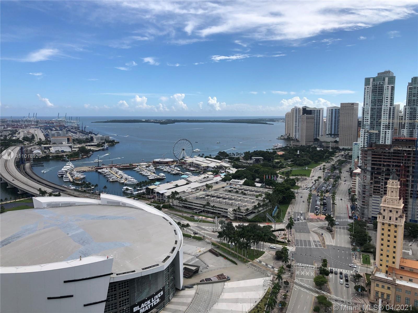 Marina Blue #3707 - 888 Biscayne Blvd #3707, Miami, FL 33132