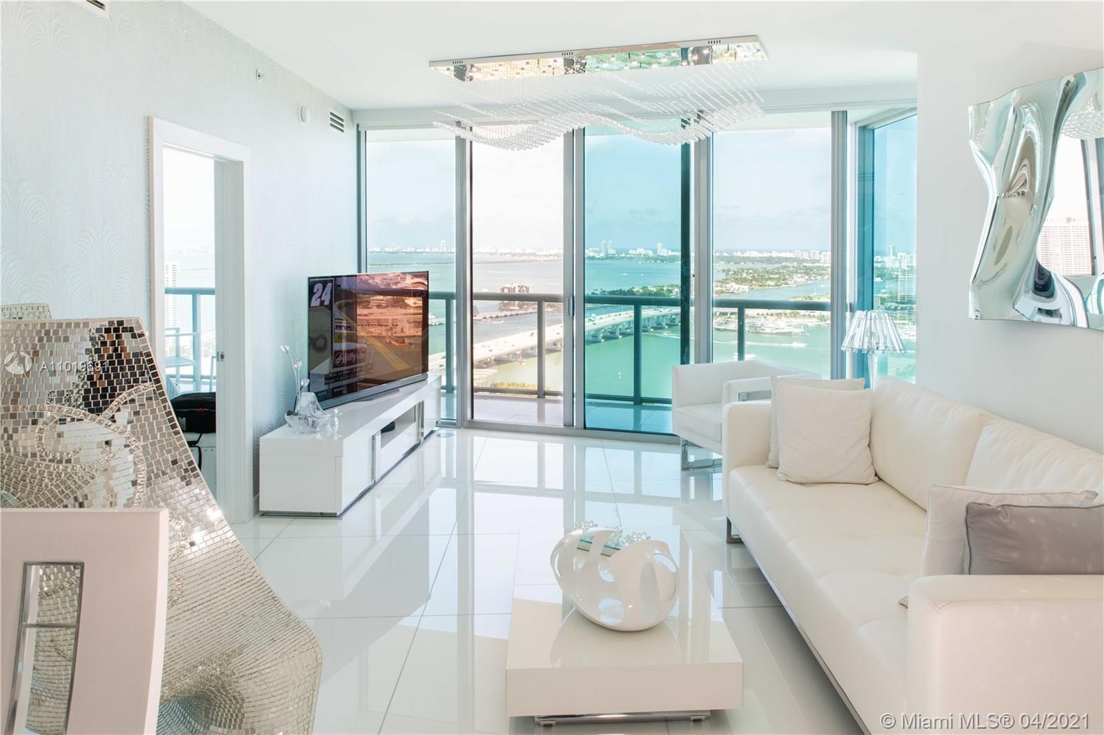 Marina Blue #3809 - 888 Biscayne Blvd #3809, Miami, FL 33132