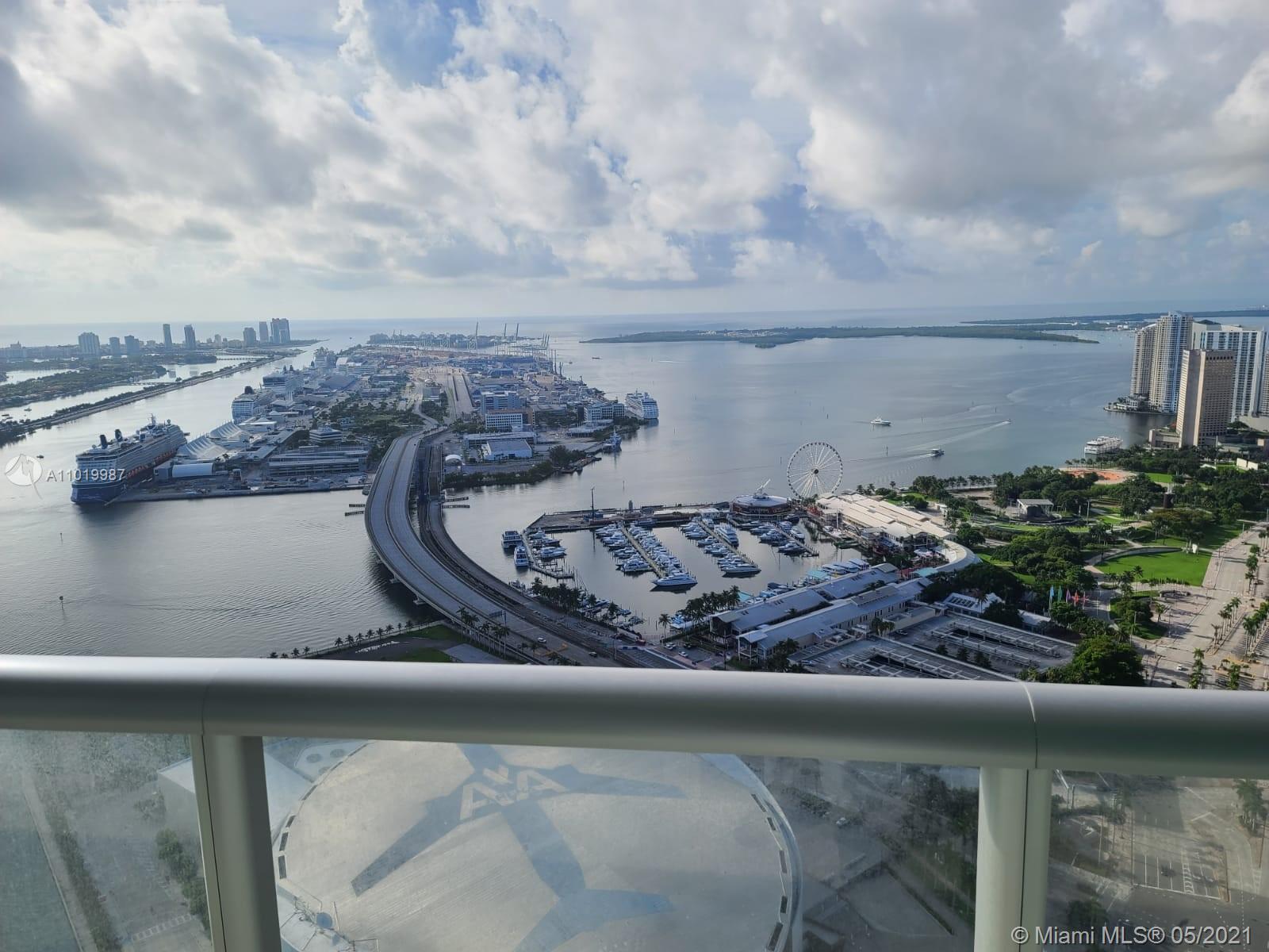 Marina Blue #5507 - 888 Biscayne Blvd #5507, Miami, FL 33132