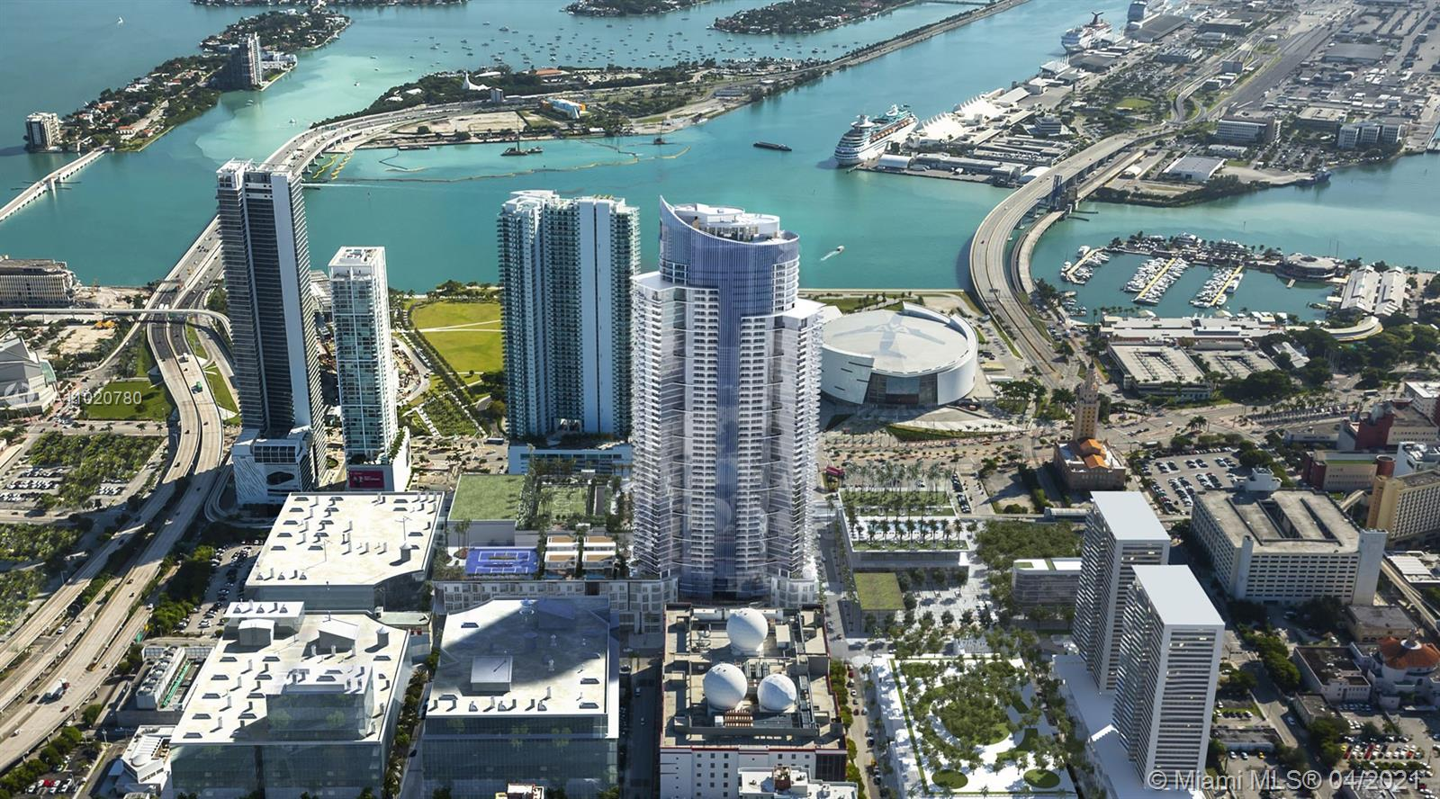 Paramount Miami Worldcenter #2411 - 851 NE 1st Ave #2411, Miami, FL 33132