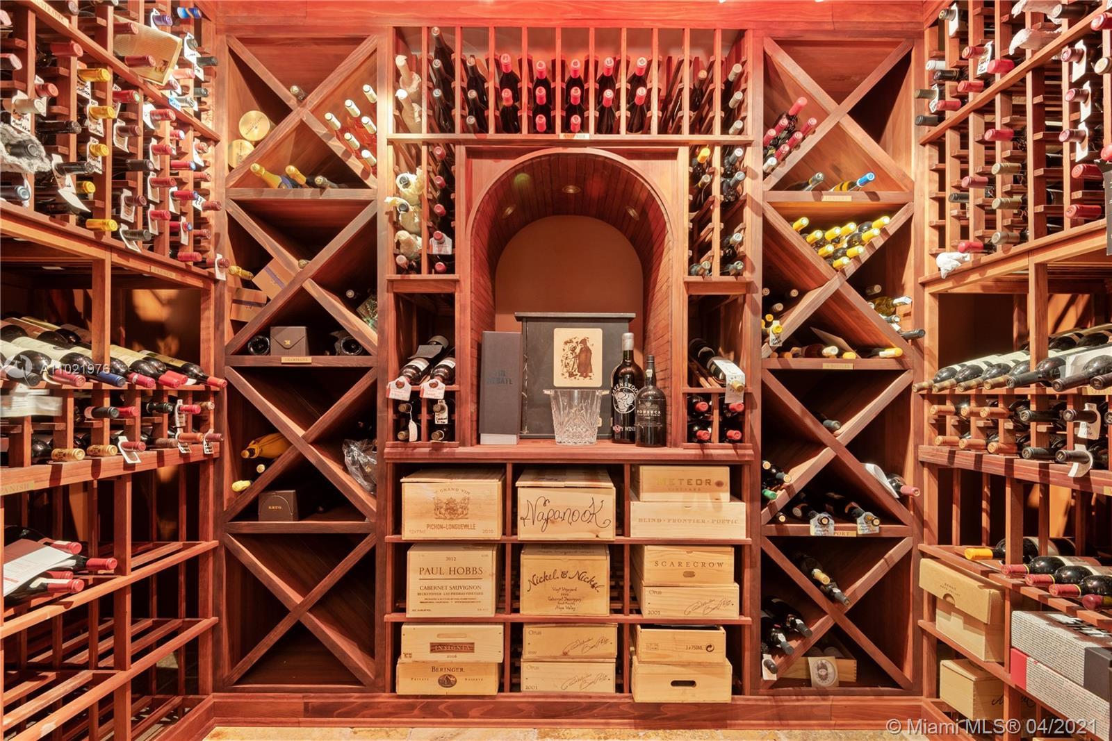 Wine Cellar holds 2001 bottles.