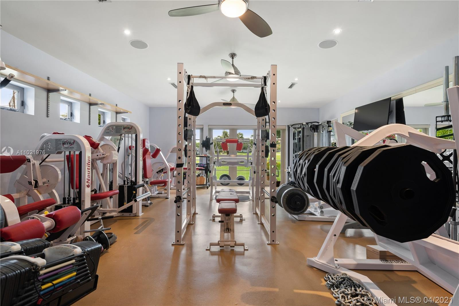 Fully Equipped Gym (can be 2nd Master Bedroom).