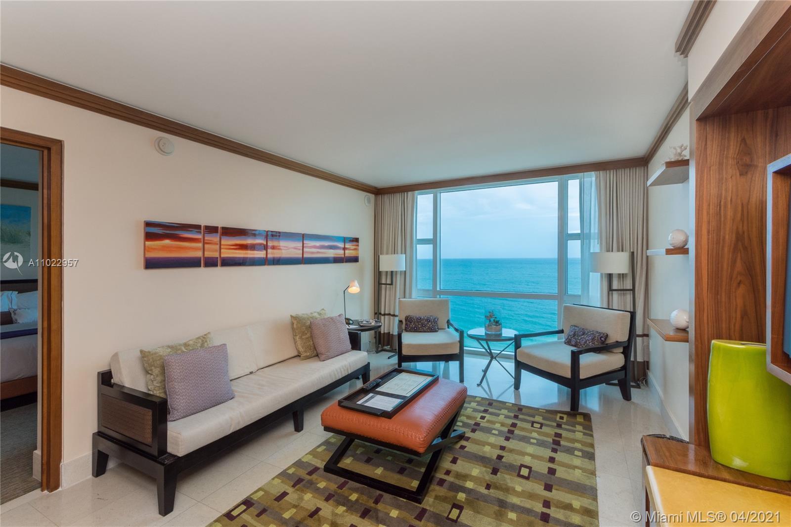 Carillon Hotel Tower #1022 - 6801 Collins Ave #1022, Miami Beach, FL 33141