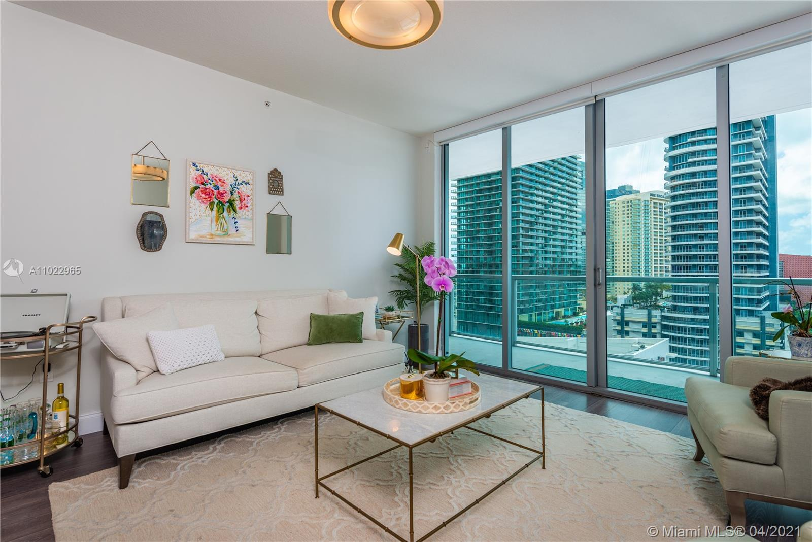 Axis on Brickell South Tower #2204-S - 79 SW 12th St #2204-S, Miami, FL 33130