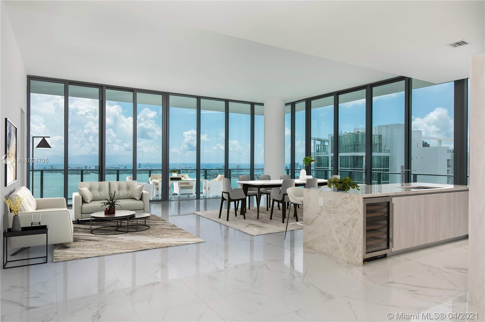 Gran Paraiso #PH5101 - 480 NE 31 Str #PH5101, Miami, FL 33137