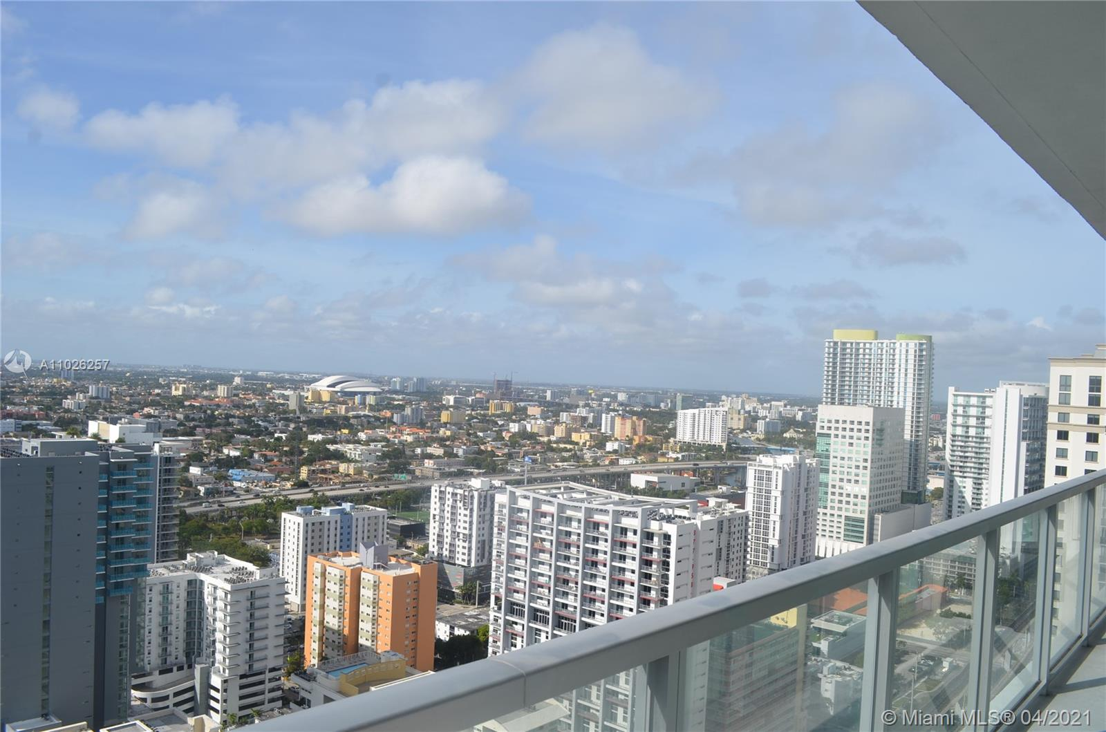 Axis on Brickell North Tower #3614-N - 1111 SW 1st Ave #3614-N, Miami, FL 33130
