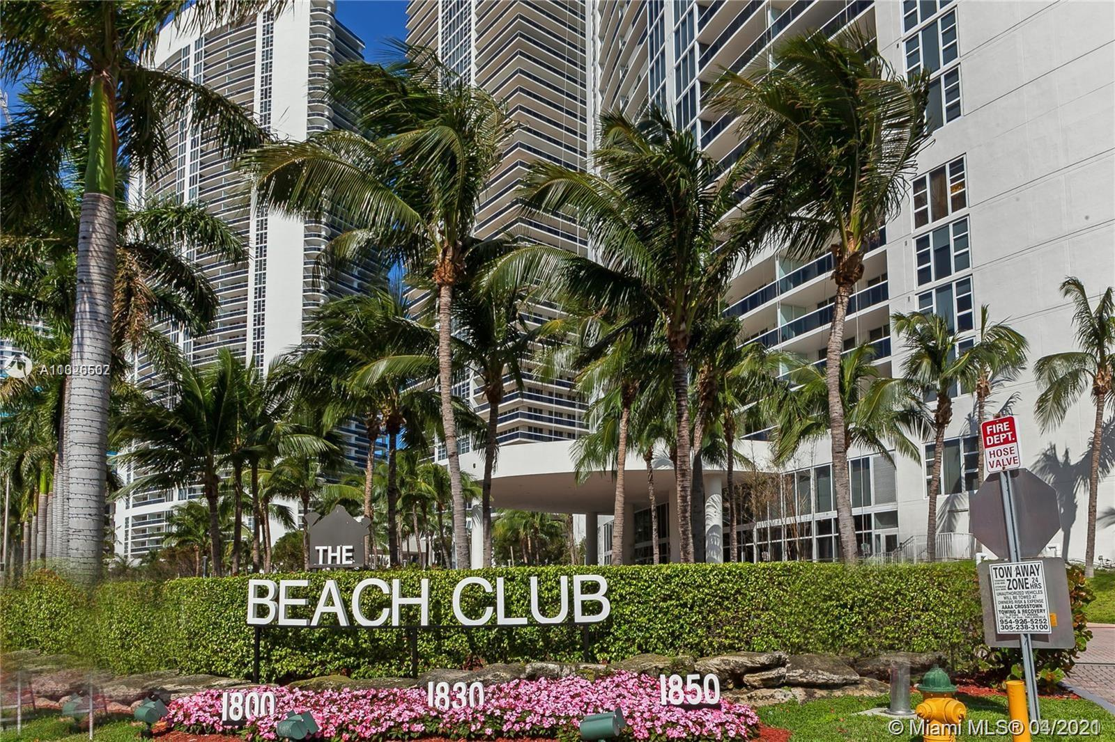 Beach Club I #2008 - 1850 S Ocean Dr #2008, Hallandale Beach, FL 33009