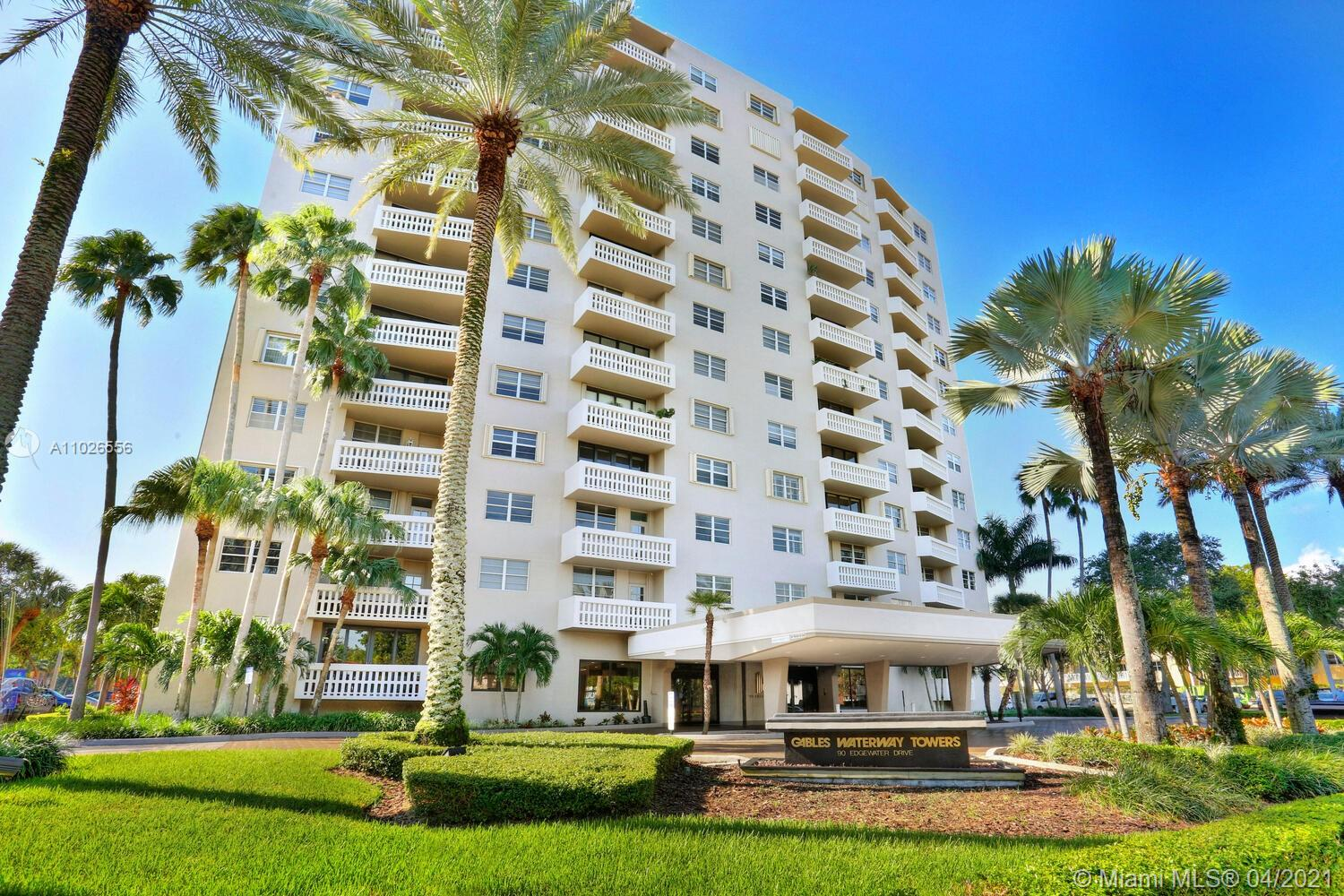 Gables Waterway #1122 - 90 Edgewater Dr #1122, Coral Gables, FL 33133