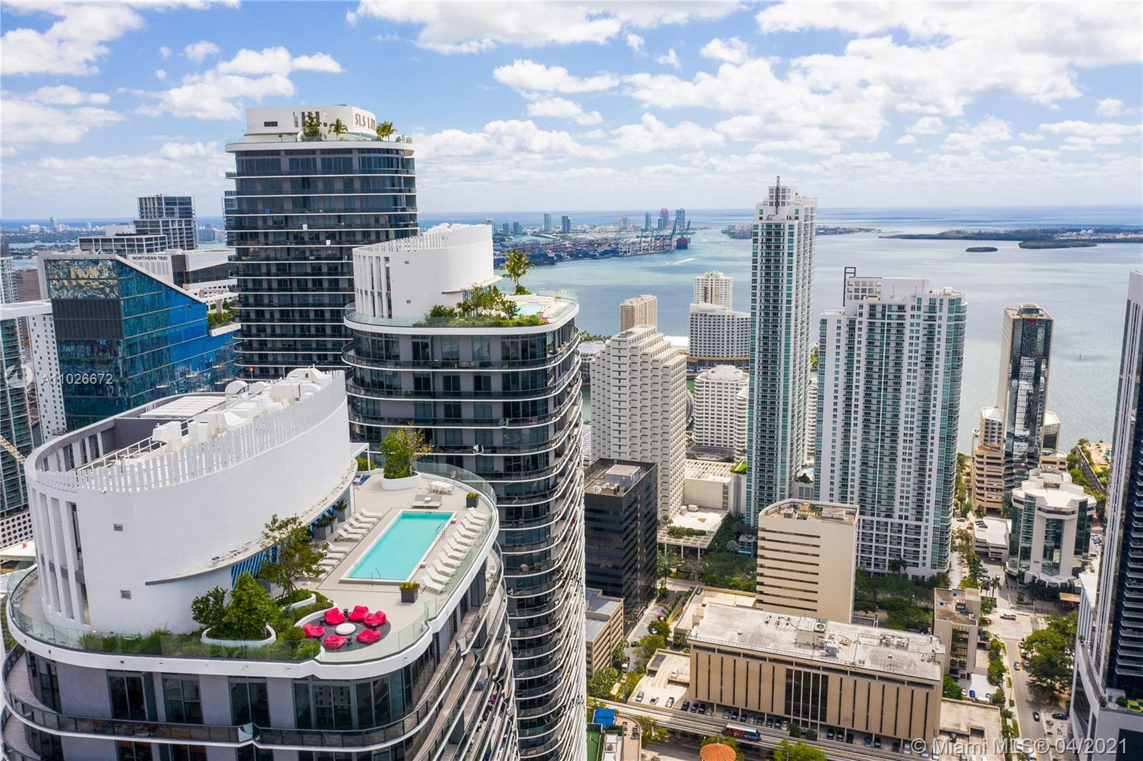 Brickell Heights West Tower #1109 - 55 SW 9th St #1109, Miami, FL 33130
