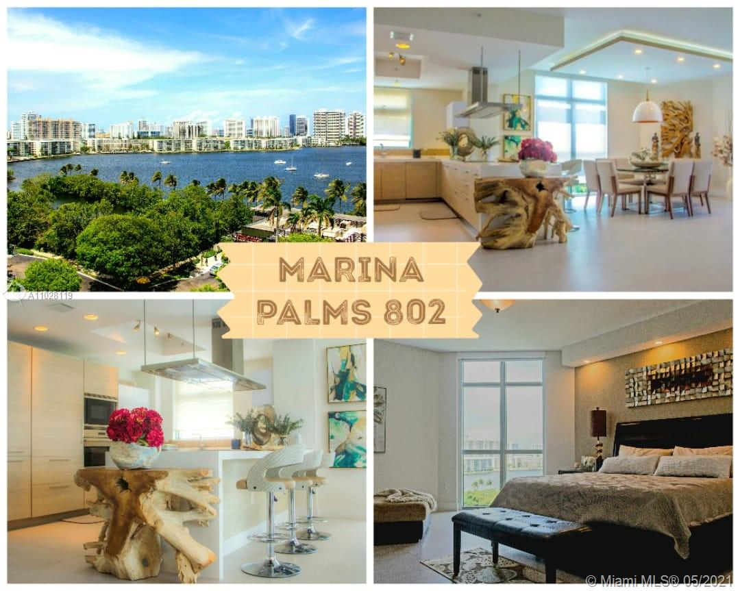 Marina Palms 2 #802 - 17301 Biscayne Blvd #802, North Miami Beach, FL 33160