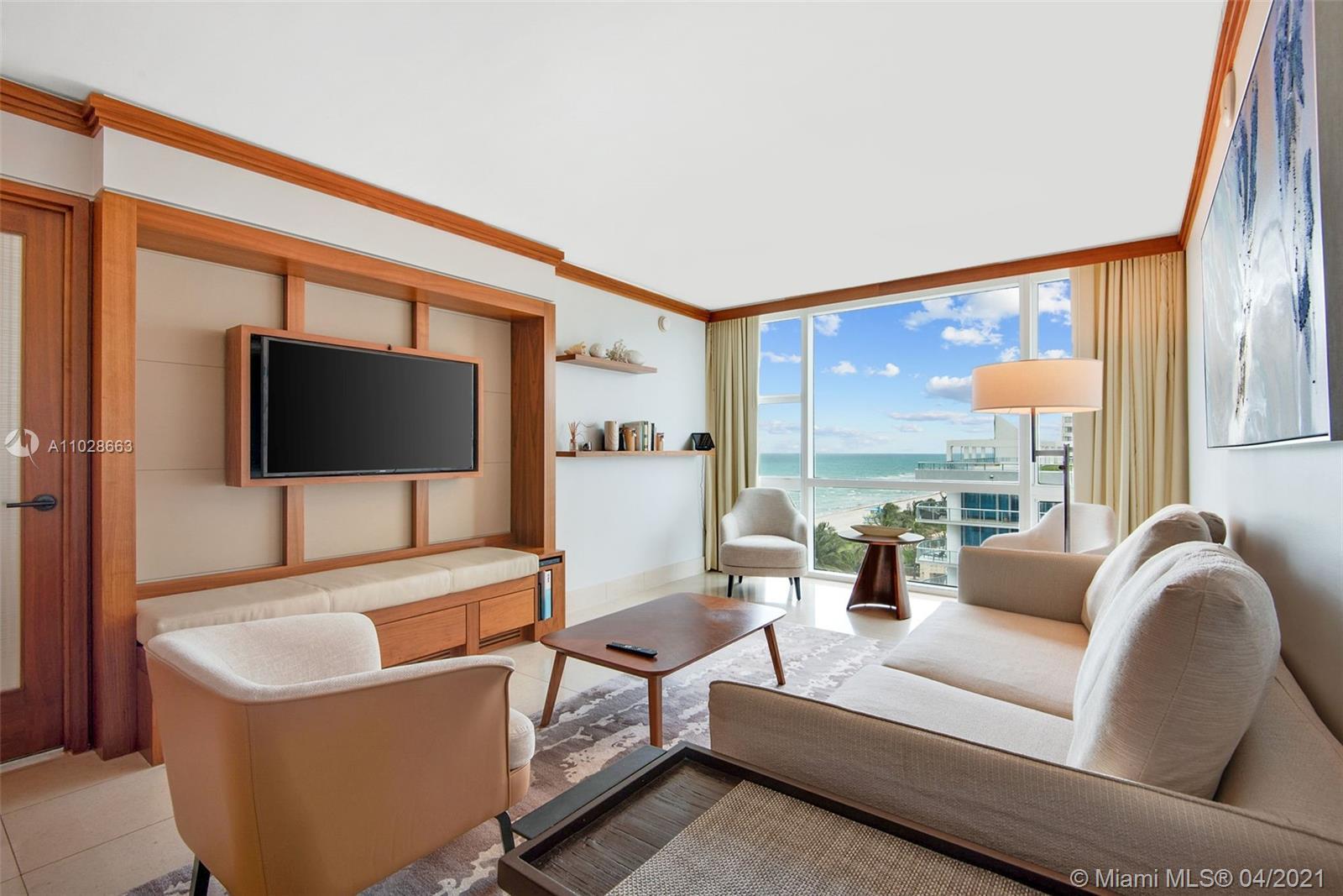 Carillon Hotel Tower #716 - 6801 Collins Ave #716, Miami Beach, FL 33141