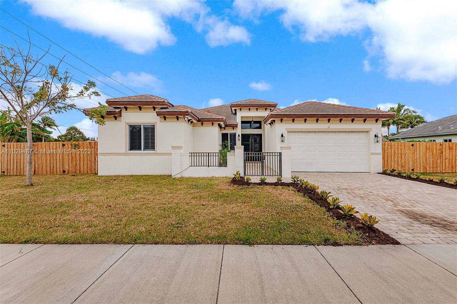 Home for sale in Costa Brava Cutler Bay Florida