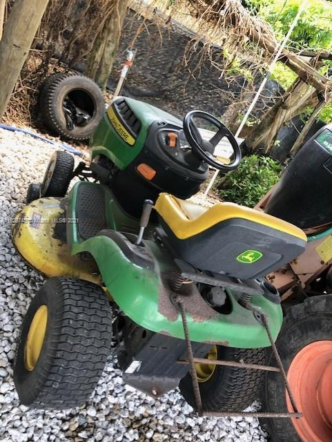 MOWER IS INCLUDED