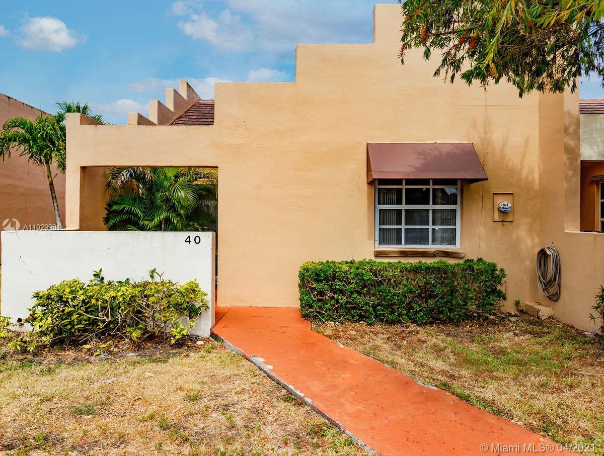 Hammocks #40 - 10340 SW 154th Pl #40, Miami, FL 33196