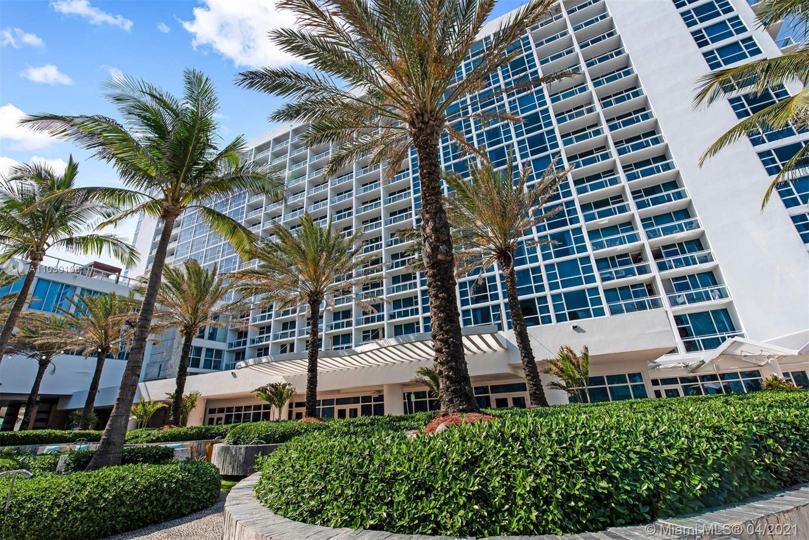 Carillon Hotel Tower #805 - 6801 Collins Ave #805, Miami Beach, FL 33141
