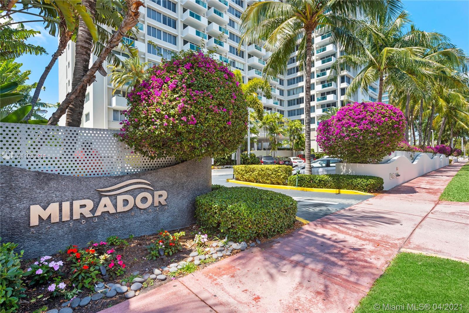 Mirador North #521 - 1200 West Ave #521, Miami Beach, FL 33139
