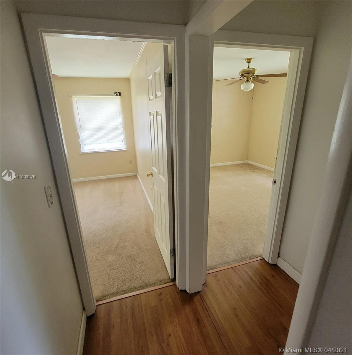 Entrance to bedrooms
