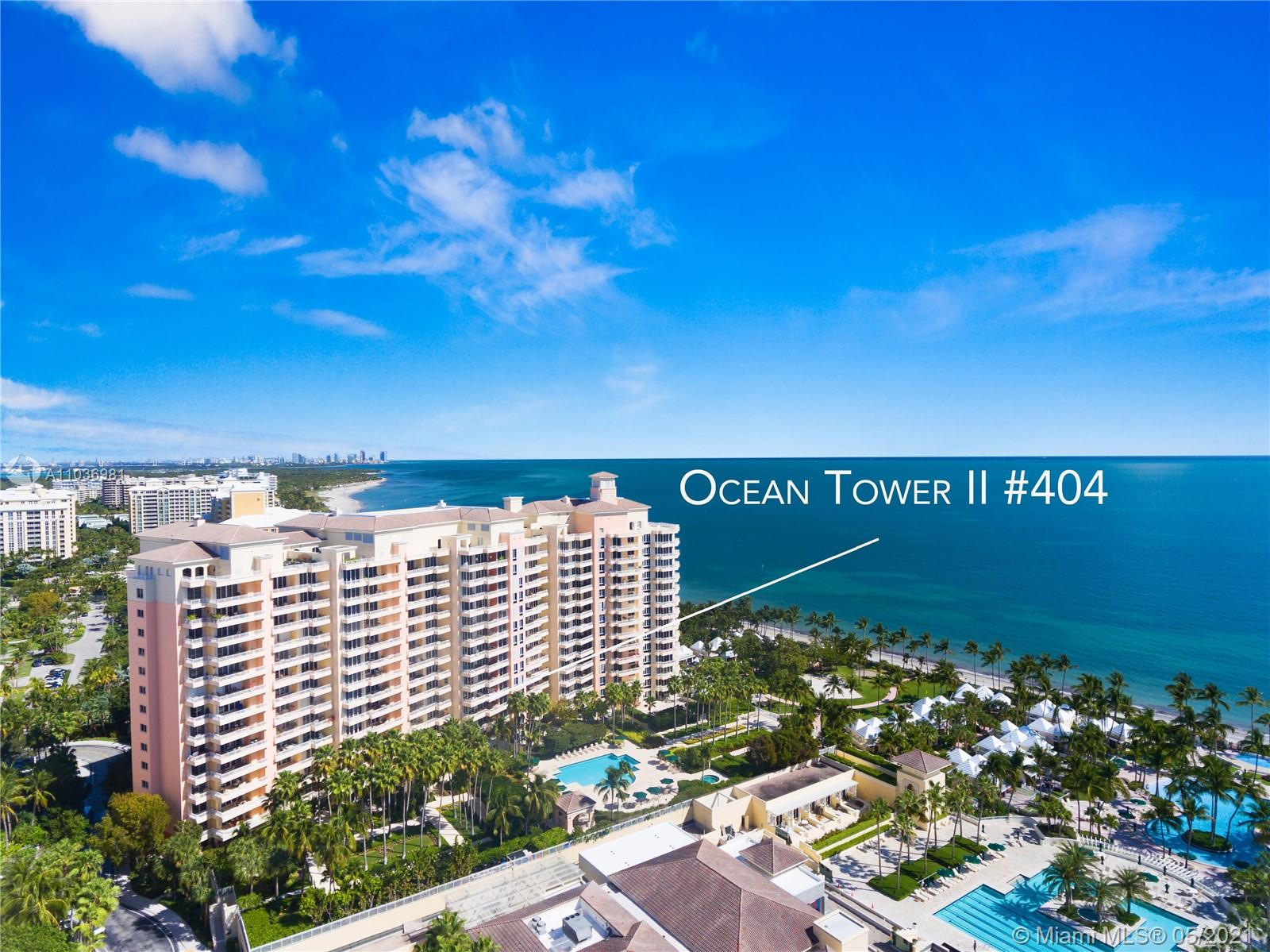 Ocean Tower Two #404 - 791 Crandon Blvd #404, Key Biscayne, FL 33149