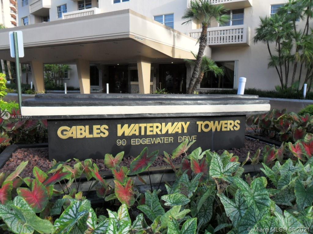 Gables Waterway #322 - 90 EDGEWATER DR #322, Miami, FL 33133