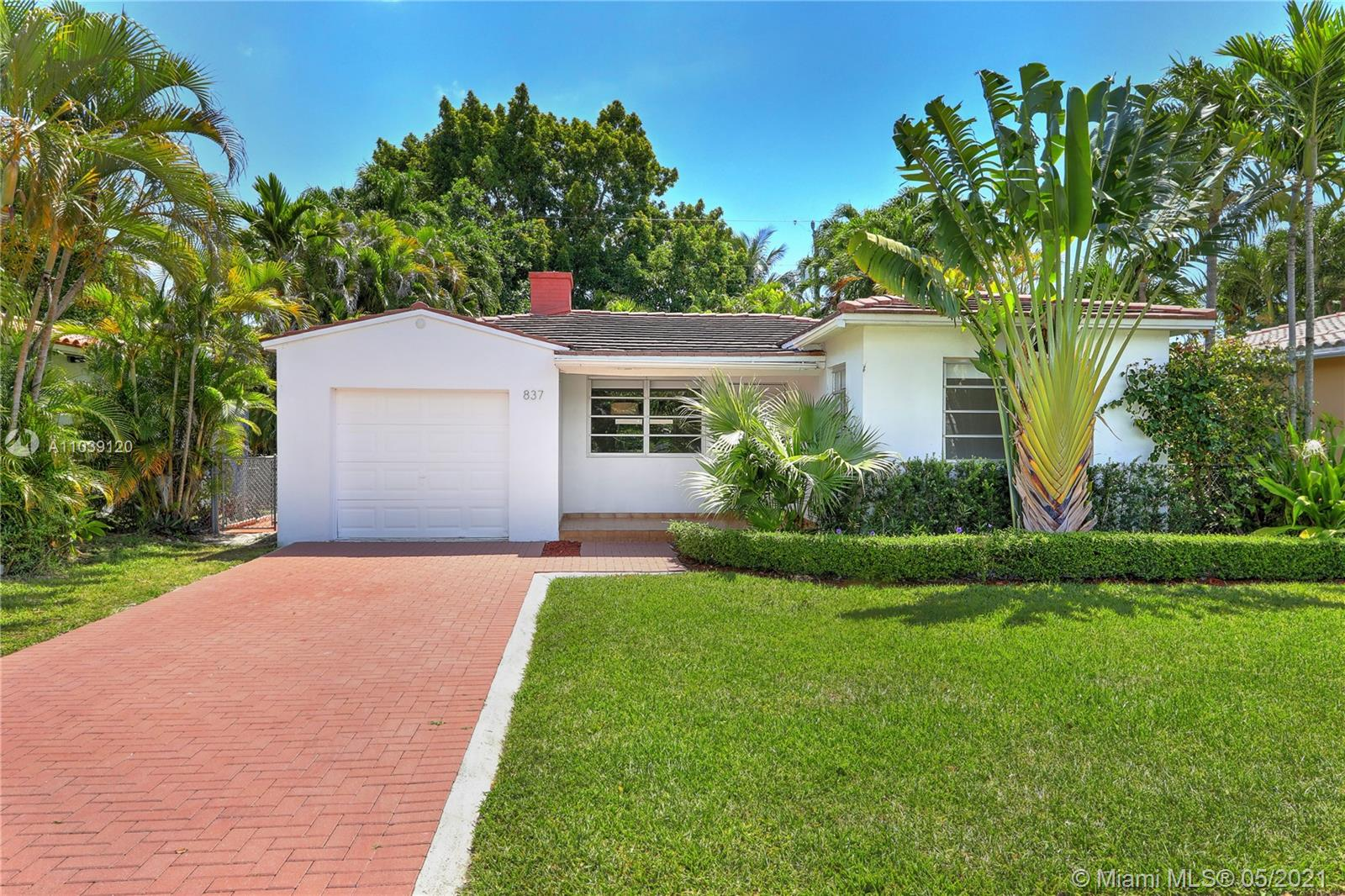 Tamiami Place - 837 Tangier St, Coral Gables, FL 33134