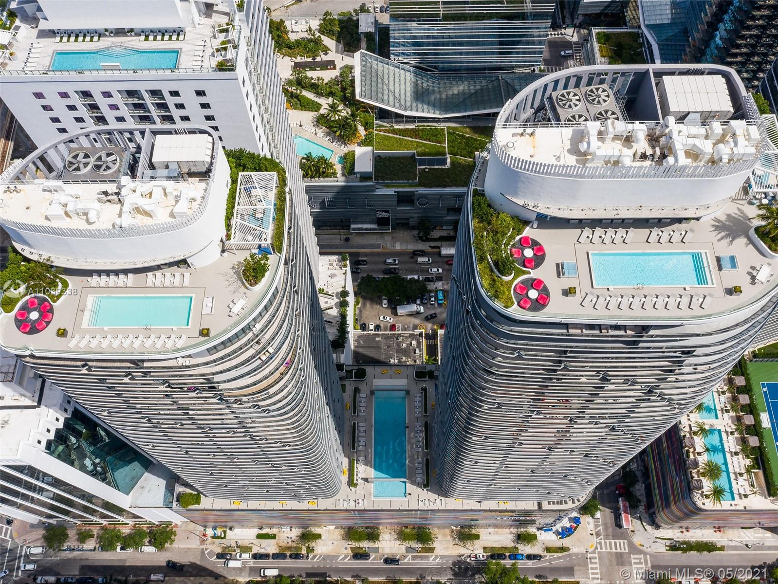 Brickell Heights East Tower #2304 - 45 SW 9 #2304, Miami, FL 33130