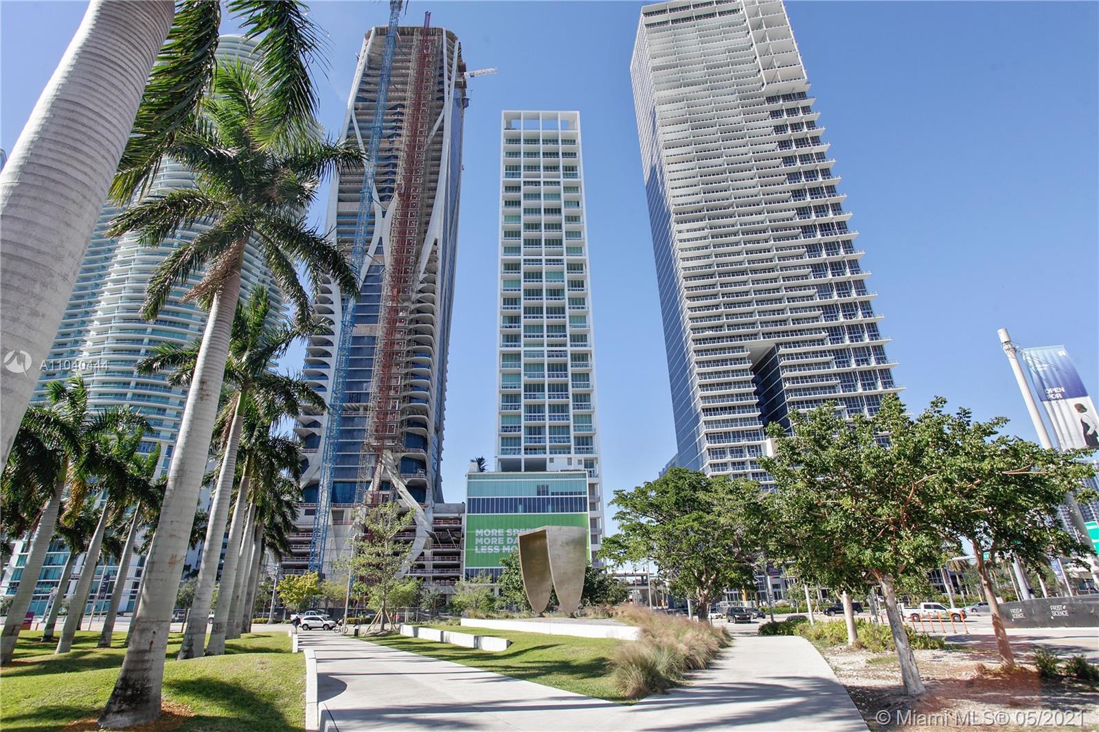 Ten Museum Park #3806 - 1040 Biscayne Blvd #3806, Miami, FL 33132