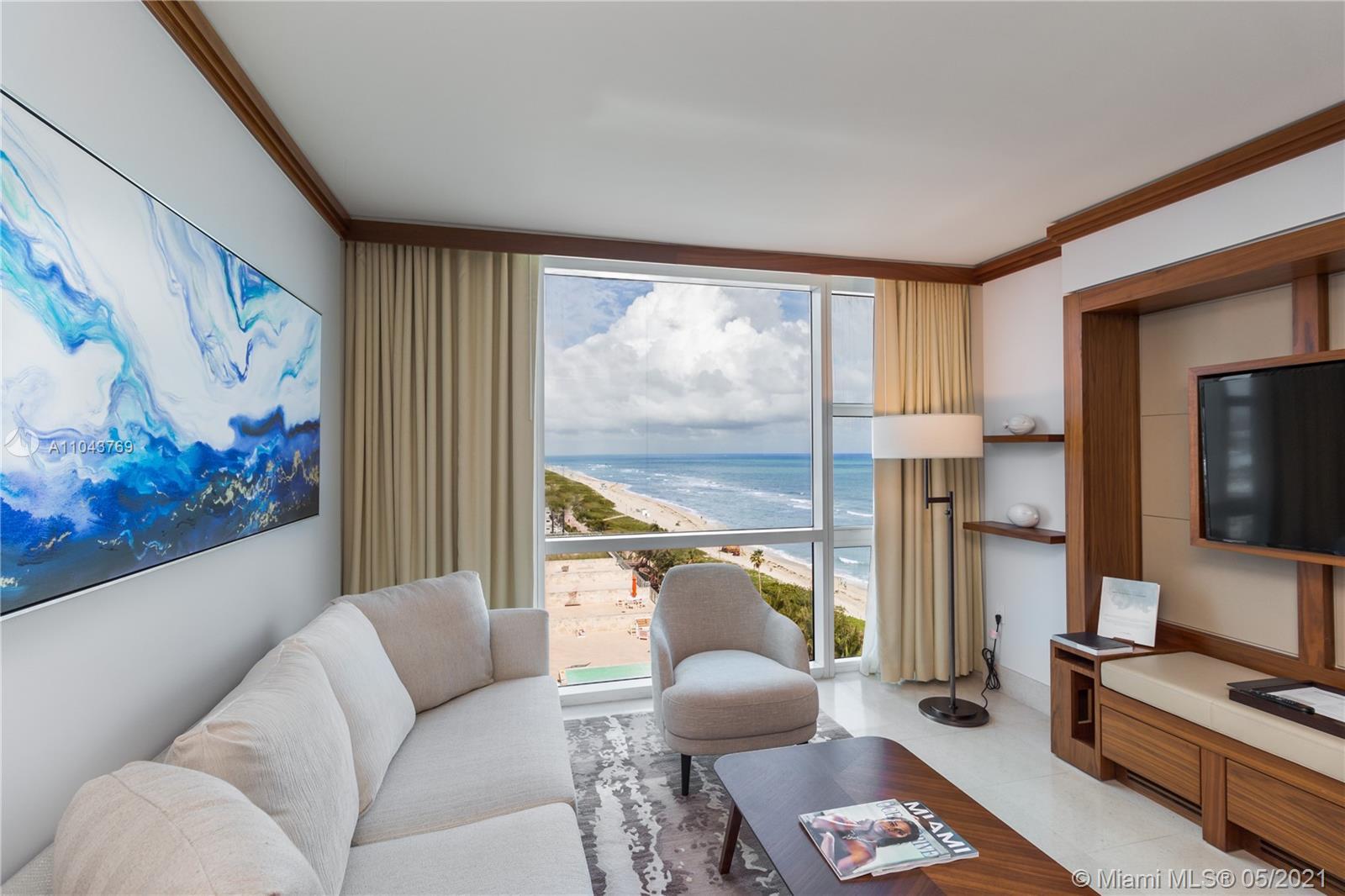 Carillon Hotel Tower #1011 - 6801 Collins Ave #1011, Miami Beach, FL 33141
