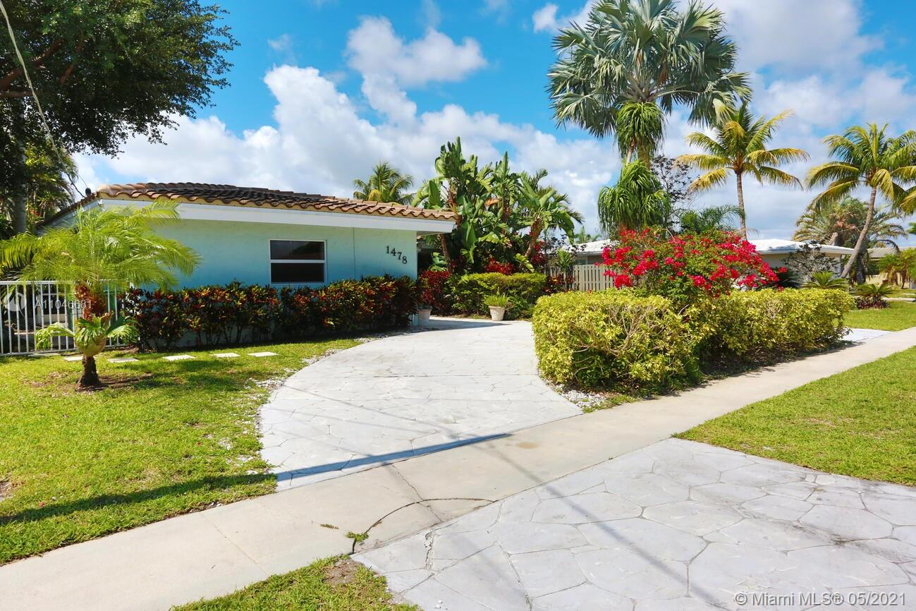 Property for sale at 1478 NE 57th Pl, Fort Lauderdale,  Florida 33334
