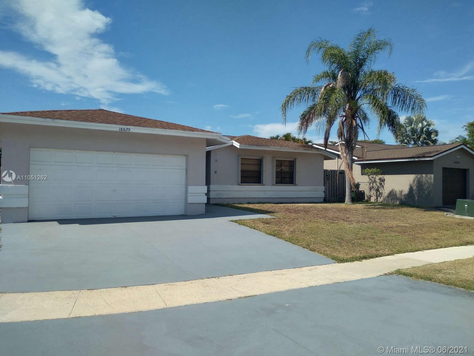 Weston - 16675 SW 5th Way, Weston, FL 33326