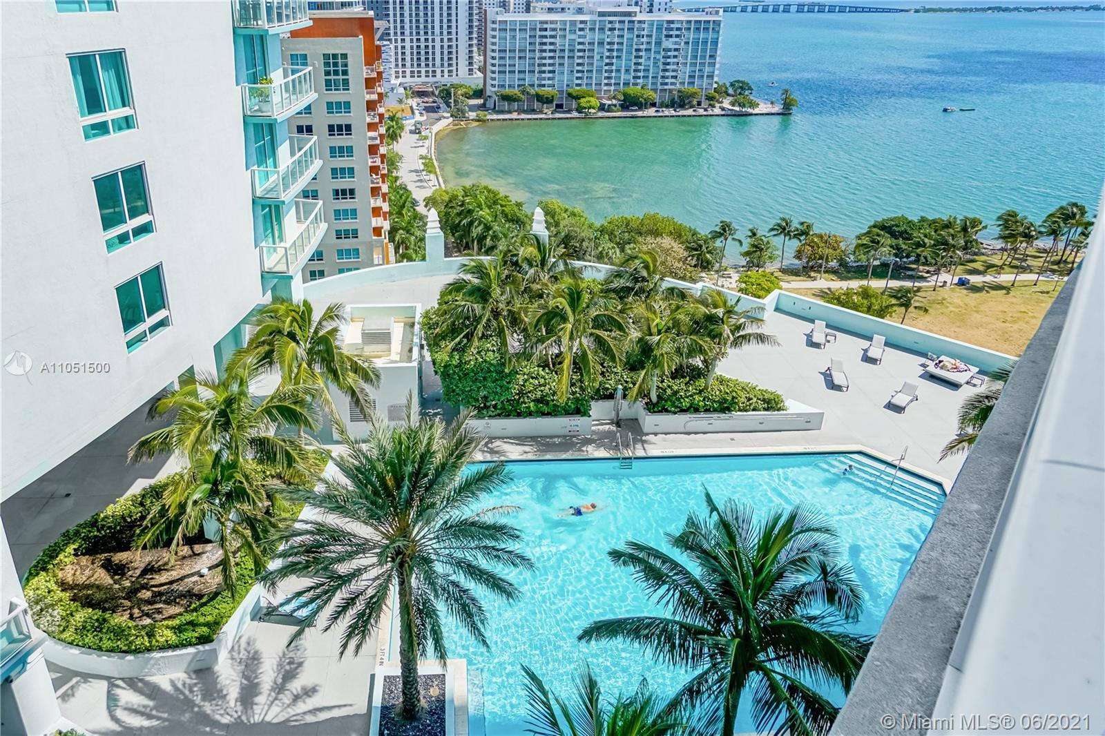 Quantum on the Bay #1710 - 1900 N Bayshore Dr #1710, Miami, FL 33132