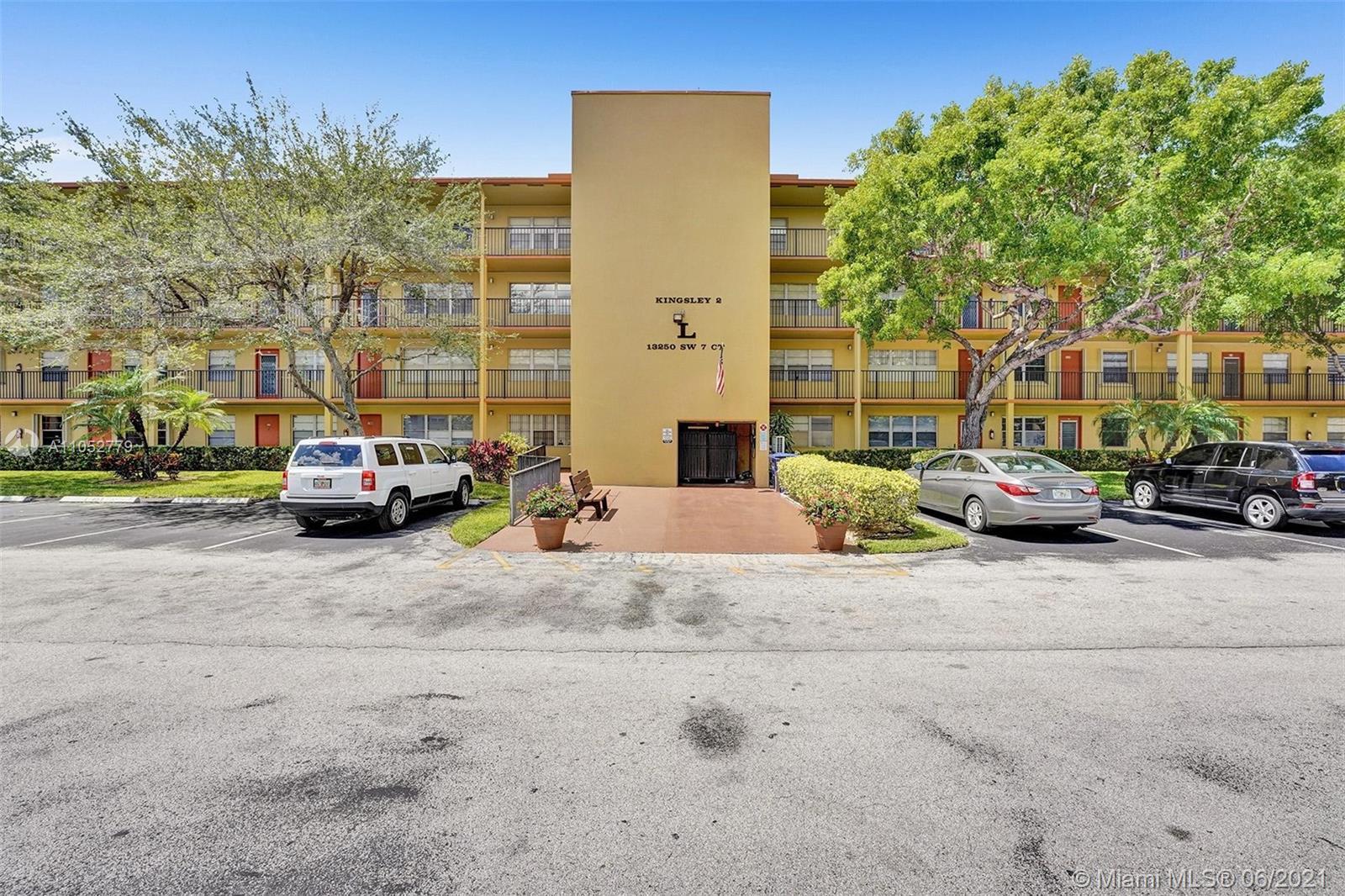 Property for sale at 13250 SW 7th Ct Unit: 207L, Pembroke Pines,  Florida 33027