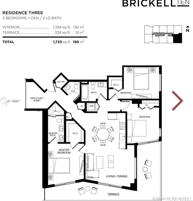 Brickell Ten #1603 - 04 - photo
