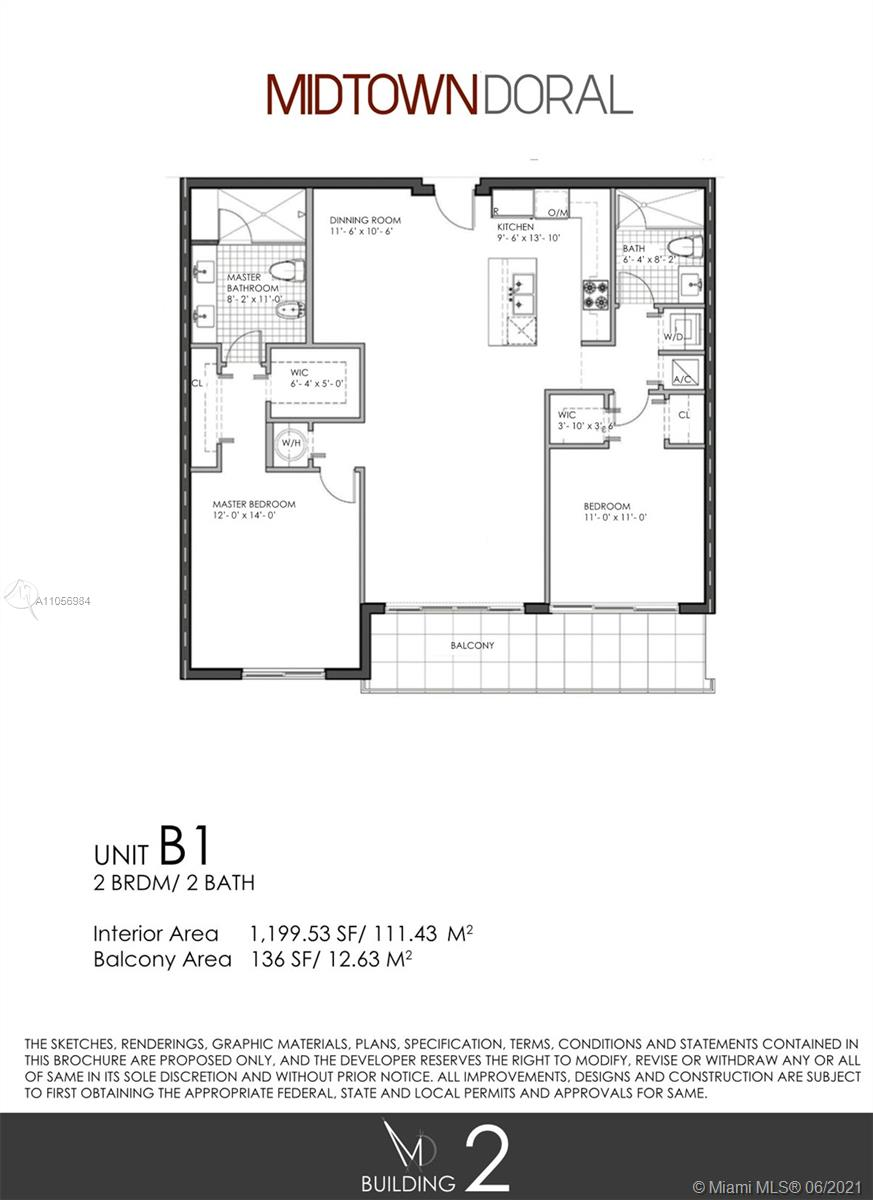 Midtown Doral - Building 2 #212 - 7751 NW 107th Ave #212, Doral, FL 33178